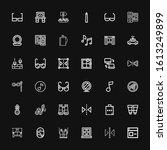 editable 36 reflection icons...   Shutterstock .eps vector #1613249899