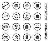Clay Pigeon Shooting Icons....