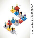 businessman infographic... | Shutterstock .eps vector #161328566