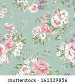 classic wallpaper seamless... | Shutterstock .eps vector #161329856