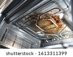 Dirty Oven.dirty Open Oven  ...