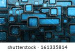 abstract 3d background for... | Shutterstock . vector #161335814