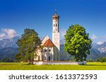 bavarian landscape   view of... | Shutterstock . vector #1613372593