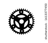 gear icon vector isolated on...