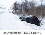 Accident On A Winter Snowy...