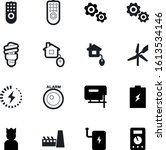 power vector icon set such as ... | Shutterstock .eps vector #1613534146