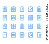 clipboard related icon and...