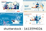 body mental therapy and... | Shutterstock .eps vector #1613594026