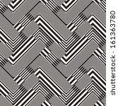 abstract striped textured... | Shutterstock . vector #161363780