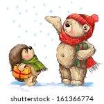 Christmas Illustration.teddy...
