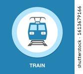 Subway Train Icon. Logo Elemen...