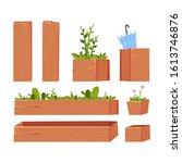 garden elements. plant....
