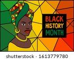black history month celebration ... | Shutterstock . vector #1613779780