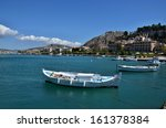 greece nafplion view of the... | Shutterstock . vector #161378384
