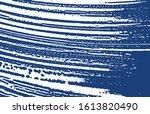 grunge texture. distress indigo ... | Shutterstock .eps vector #1613820490