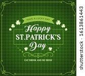 Happy St Patricks Day  Irish...