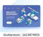 industrial equipment set...
