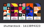 set of ticket vector template... | Shutterstock .eps vector #1613894323