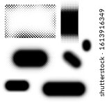 abstract halftone dots elements ... | Shutterstock . vector #1613916349