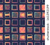 bright squares seamless pattern | Shutterstock .eps vector #161392199