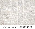 Old Grunge Newspaper Paper...
