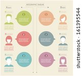 people icons infographic concept | Shutterstock .eps vector #161395544
