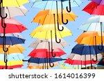 Umbrella Street Decoration. Th...