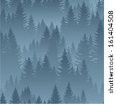 vector mountains forest... | Shutterstock .eps vector #161404508