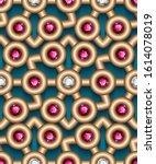 jewelry gold geometric ornament ...   Shutterstock .eps vector #1614078019