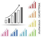 chart arrow in multi color...   Shutterstock .eps vector #1614079066
