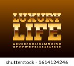 vector premium emblem luxury...   Shutterstock .eps vector #1614124246