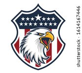 eagle made in usa united states ... | Shutterstock .eps vector #1614167446