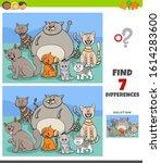 cartoon illustration of finding ... | Shutterstock .eps vector #1614283600
