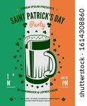 saint patrick's day celebration ... | Shutterstock .eps vector #1614308860