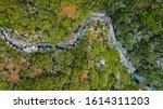 Aerial Drone View Looking Wate...