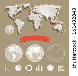 infographic element template.... | Shutterstock .eps vector #161432843