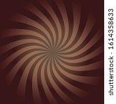 milk chocolate swirl pattern... | Shutterstock .eps vector #1614358633