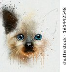 animal collection  cat | Shutterstock . vector #161442548