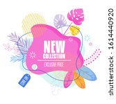 bright colorful label for...