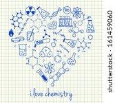 illustration of chemistry...   Shutterstock .eps vector #161459060