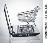 online shopping. shopping cart... | Shutterstock . vector #161483138