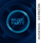 music party background  premium ... | Shutterstock .eps vector #1614862186