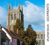 Long Melford  Suffolk  Uk   ...