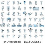 thief   set of concepts vector... | Shutterstock .eps vector #1615006663
