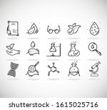 set of icons for different... | Shutterstock .eps vector #1615025716