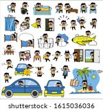 Indian Man   Set Of Concepts...