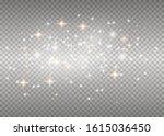 white sparks glitter special...   Shutterstock .eps vector #1615036450