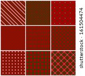 Christmas Seamless Patterns In...