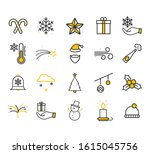 thin line icons set of...   Shutterstock .eps vector #1615045756