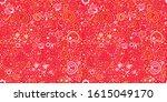 seamless retro elegant hearts...   Shutterstock .eps vector #1615049170